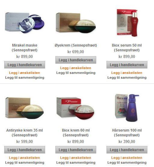 Produkter fra Sennepsfrøet