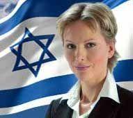 Knesset-medlem Anastassia Michaeli fra Israel Beiteinu.
