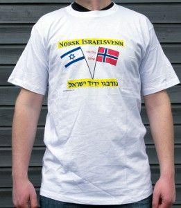 Norsk Israelsvenn t-skjorte.