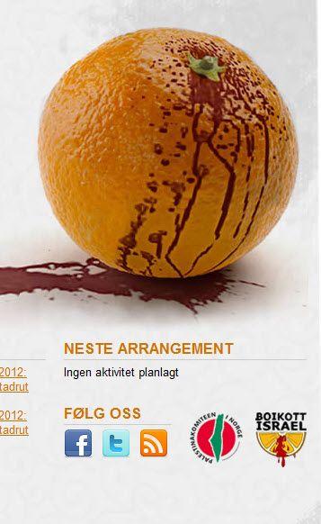 Skjermdump fra boikott.net 23. februar 2012.