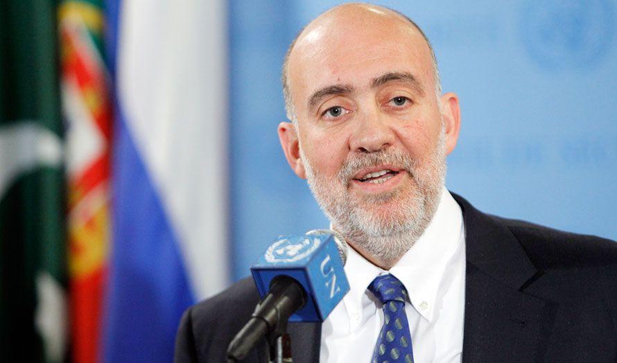 Israels FN-ambassadør Ron Prosor. (Foto: Paulo Filgueiras, FN)
