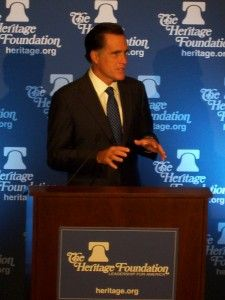 Mitt Romney. (Foto: Talk Radio News Service)