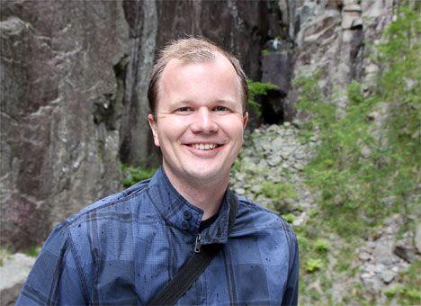 Conrad Myrland, daglig leder i Med Israel for fred. (Foto: Mette Follestad)