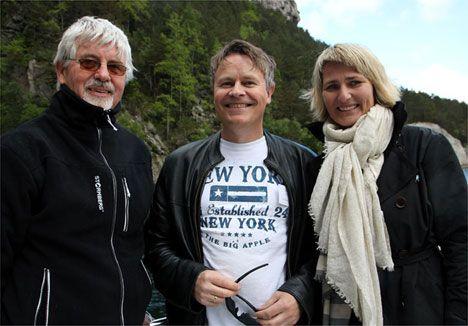Gabriel Edland (MIFF Kristiansand), Bengt-Ove Nordgård (MIFF Østfold) og Mette Follestad (MIFF Drammen).