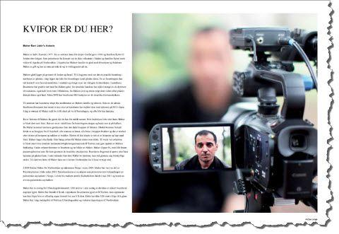 """Faksmile av side 16 og 17 i """"Kome til deg i Tidende"""" nr. 2/2012."""