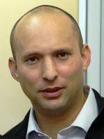 Økonomi- og handelsminister Naftali Bennett (Foto: Wikipedia)