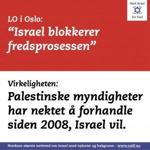 Med Israel for fred har satt i gang en Facebook-aksjon mot LOs Israel-boikott som etter to døgn har fått tilslutning av over 1700 brukere.
