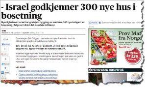 Skjermdump fra Aftenposten.no etter at overskriften var rettet.