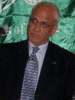 PAs sjefsforhandler Saeb Erekat (Foto: Wikimedia Commons)