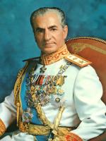 Maleri av Irans tidligere shah Mohammad Reza Pahlavi. (Foto: Wikimedia Commons)