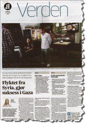 Faksmile av hele Aftenpostens reportasje 11. oktober 2013.