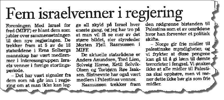 Faksmile fra Klassekampen 18. oktober 2013.