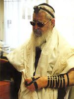 Shas' religiøse leder, rabbiner Ovadia Yosef (Foto: Wikimedia Commons)