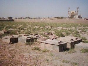 Den jødiske kirkegården i Herat, Afghanistan (Foto: Wikimedia Commons)