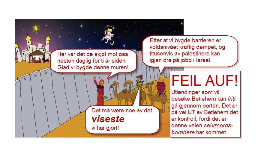 MIFF har lagt inn noen snakkebobler og en rettelse i AUFs juleillustrasjon.