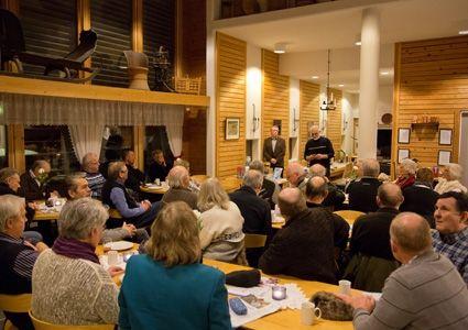 40 Israelsinteresserte vest-telemarkinger møtte opp på den nye lokalforeningens første møte i Morgedal.