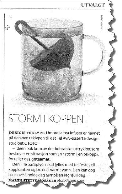 Faksmile av Dagens Næringsliv 28. mars 2014.