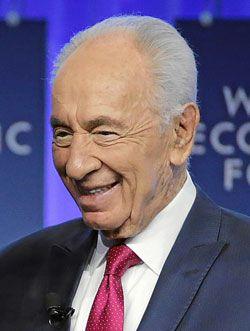 Israels president Shimon Peres. (Foto: Remy Steinegger, World Economic Forum)
