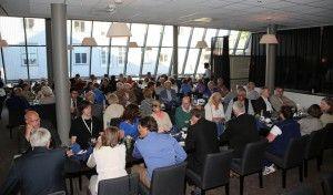 Landsmøtet samlet til festmiddag. (Foto: Tor-Bjørn Nordgaard)