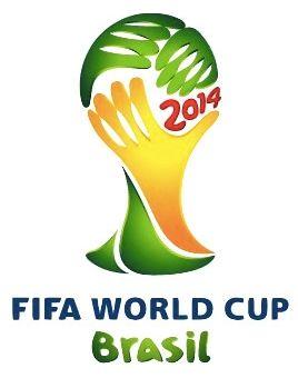 Den offisielle logoen for fotball VM i Brasil 2014.