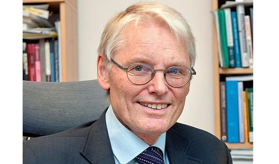 Professor Nils A. Butenschøn. (Foto: UiO)