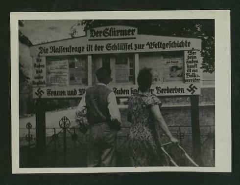 De som handler med jøder, gjør forræderi mot landet. (Foto: National Library)