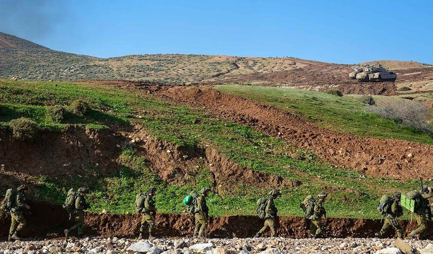 Israelske soldater i grenseområdet i nord-Israel. (Illustrasjonsfoto: IDF / Flickr.com)