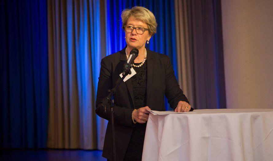 Corina Eichenberger-Walther er president for European Alliance for Israel. (Foto: Tor-Bjørn Nordgaard)