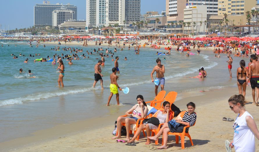 Strandliv i Tel Aviv (Illustrasjonsfoto: Geir Knutsen, MIFF)