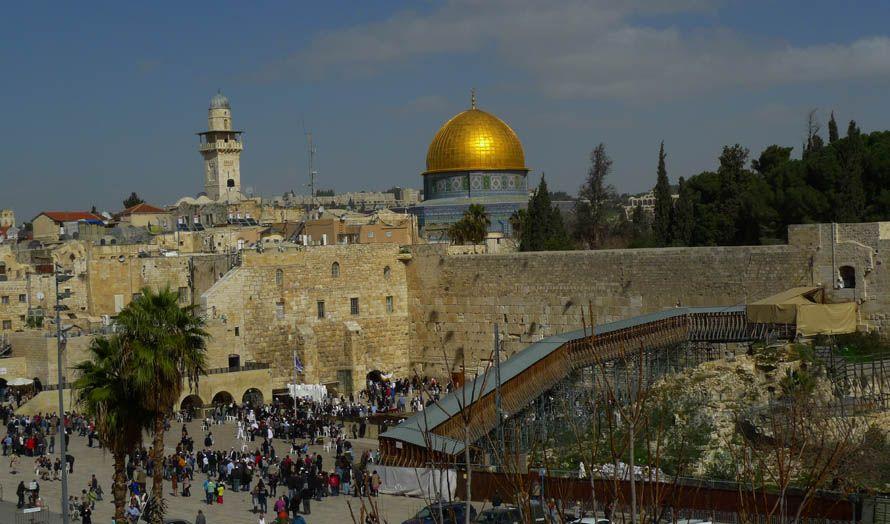 FNs generalsekretær sier det lå et jødisk tempel her i Jerusalem. (Illustrasjonsfoto: Justin LaBerge / Flickr.com / CC)
