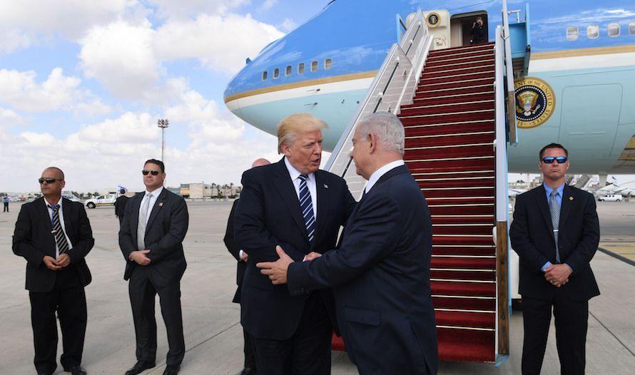 Netanyahu takker Trump for besøket. (Foto: Kobi Gideon/Flickr)