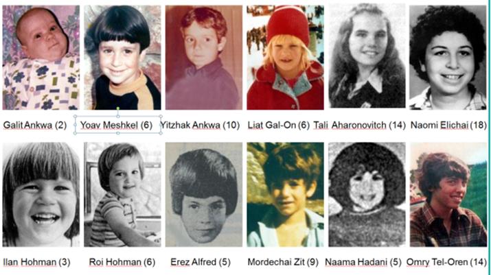 Tolv av ofrene etter terrorangrepet var barn. (Foto: Palestinian Media Watch)