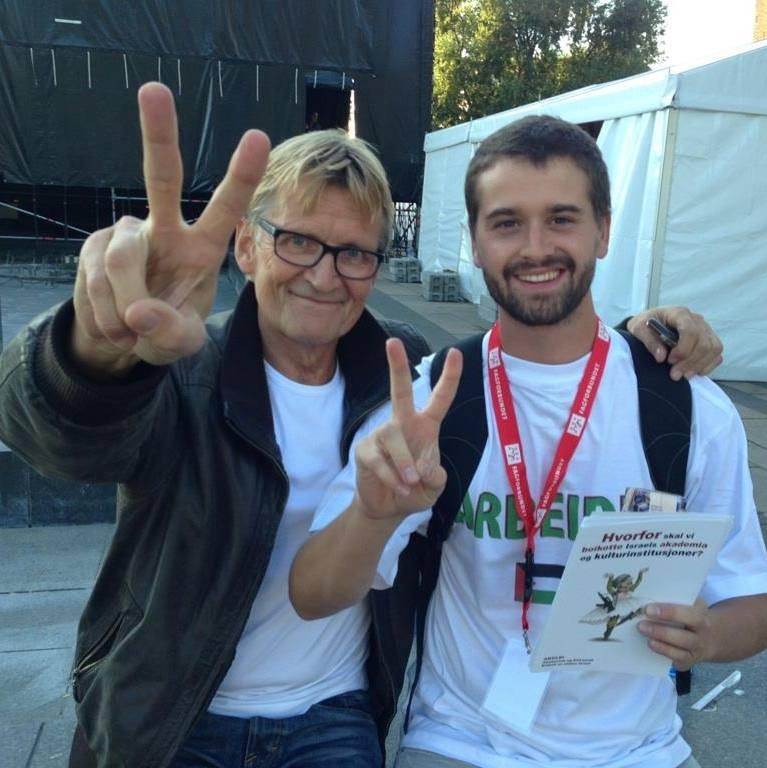 Mads Gilbert og Nikolaos Tavridis-Hansen (Foto: Facebook)