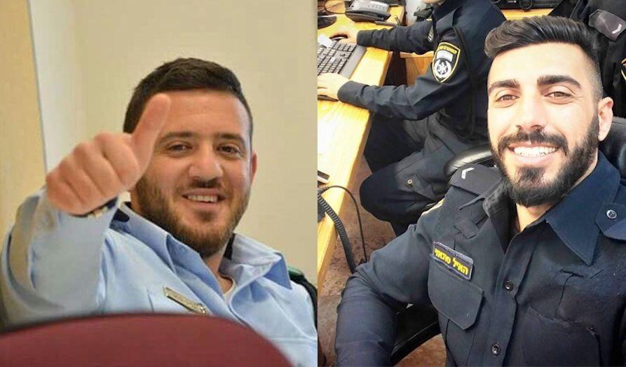 22 år gamle Kamil Shnaan (t.v.) og 30 år gamle Haiel Sitawe ble drept i fredagens terrorangrep. (Foto: Politiet)