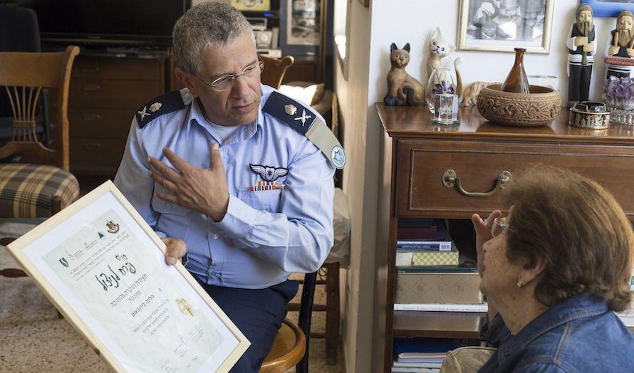 Generalmajor Amir Eshel i det israelske luftforsvaret. (Foto: Celia Garion/Flickr)