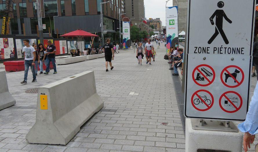 Betongbarrierer er blitt et vanlig syn i mange storbyer. (Foto: Sean Marshall/Flickr)