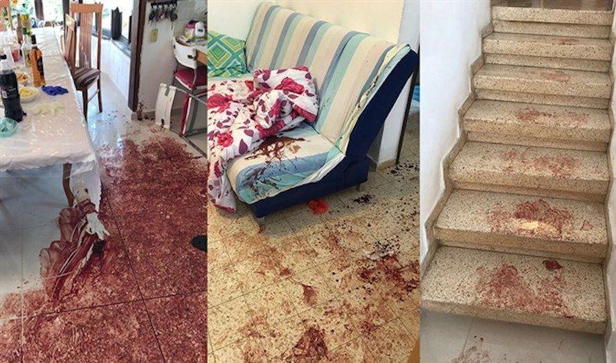 Det var et brutalt syn som møtte redningsmannskapene. (Fotomontasje: IDF)