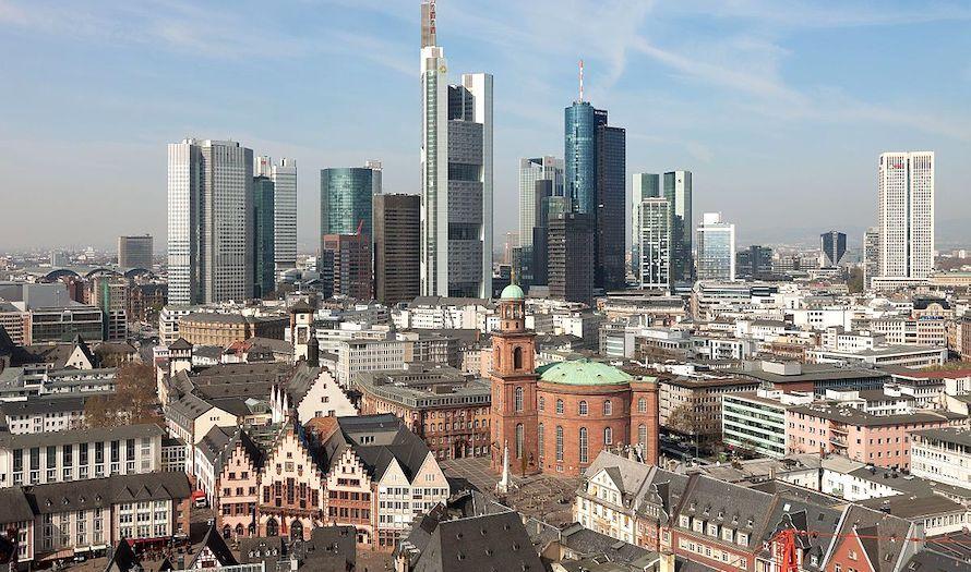 Den politiske ledelsen i Frankfurt har laget en lov som forbyr BDS-bevegelsen. (Foto: Wikipedia)