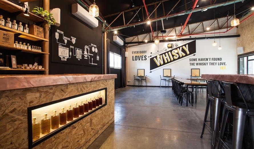 Destilleriet i Tel Aviv har også åpnet et nytt besøkssenter. (Foto: Milk & Honey)